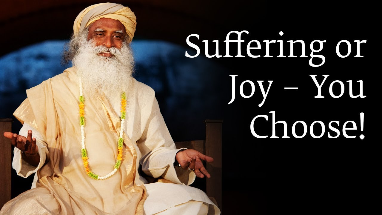 Suffering or Joy – You Choose!