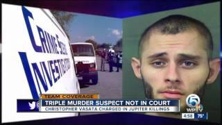 Triple Murder Suspect In Court