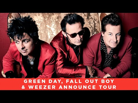 Green Day, Fall Out Boy & Weezer Announce 'Hella Mega Tour' & New Music - Rock Sound News