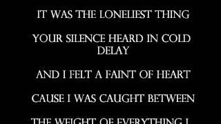 Courrier - Between(lyrics)