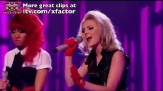 Little Mix - If I Were a Boy - The X Factor 2011 [Semi Finals Performance 2]