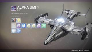 Destiny 2 Warmind Get Currus Gloriae XL11