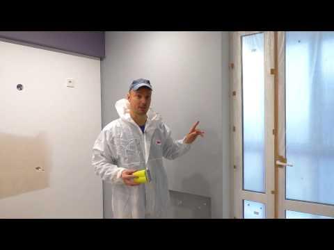 Тонкости покраски стен! Решаем распространенную проблему?