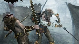 Skyrim Special Edition Xbox One: Part 6  – Ciri Armor Mod with Swords Only Female