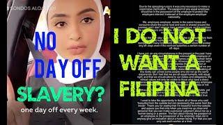 SONDOS AL-QATTAN SLAVING FILIPINA's w/ VIDEO + DIRECT STATEMENTS | Joanna Demafelis Death