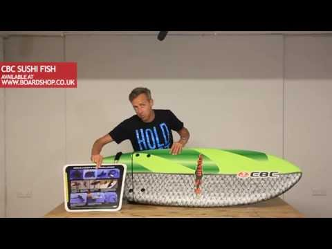 California  Board Company Sushi Fish Surfboard Review