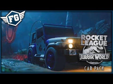 JURSKÝ SVĚT - Rocket League: Jurrasic World Car