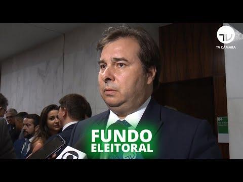 Maia defende debate sobre fundo eleitoral - 17/09/19