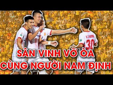 Khoảnh khắc khó quên của bóng đá Nam Định tại sân Vinh | Play-off V.League 2018
