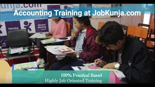 Professional Accounting Training in JobKunja (The BEST Accounting Training since 2011).