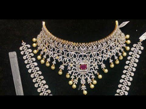 Diamond / Silver Finish | Bridal Set |  PAKEEZAH FASHION