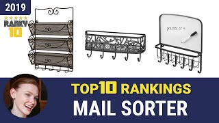 Best Mail Sorter Top 10 Rankings, Review 2019 & Buying Guide