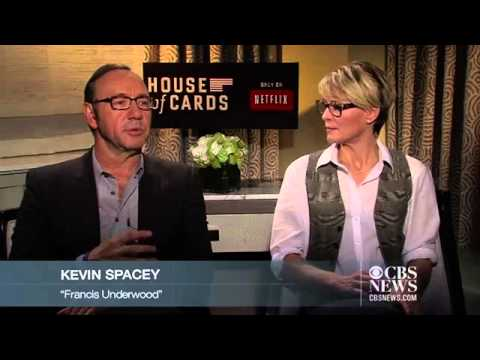 Kevin Spacey, Robin Wright on