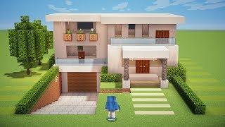 Minecraft Tutorial - Casa Moderna Subterrânea