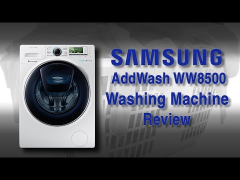 Samsung WW8500 Washing Machine Review