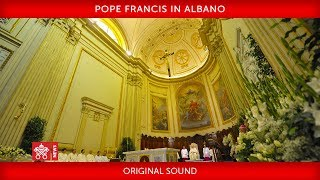 Pope Francis in Albano 2019-09-21