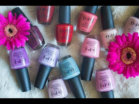 OPI Peru Live Swatch & Review