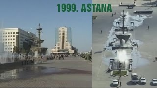 preview picture of video 'Astana city, Kazakhstan 1999.-capital of Kazakhstan-  Астана Казахстан-CITY TOUR'