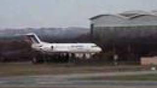 preview picture of video 'Air France - Fokker 70 - landing'