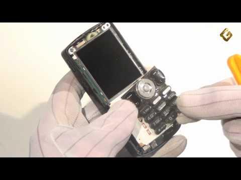 Ремонт Sony Ericsson W810 - замена передней панели корпуса