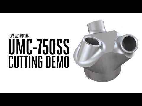 UMC-750SS Cutting Demo