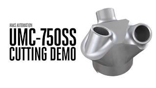 Обработка на 5-осевом вертикально-фрезерном центре Haas UMC-750SS
