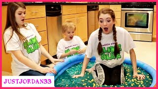 Super Messy Slime Movie (I Get STUCK) Part 2 / JustJordan33
