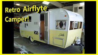 Look inside the 19 foot 2015 Shasta Airflyte Reissue! | Mount Comfort RV