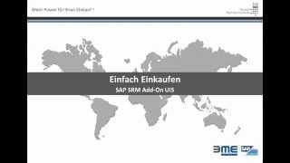 SAP SRM Add-On UI5 - Einfache Artikelsuche