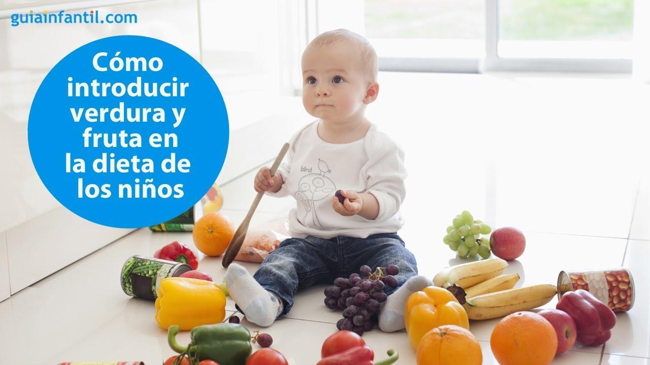 Trucos para introducir de forma exitosa la fruta y la verdura en niños | #ConectaConTuHijo