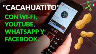 Ghia KOX1, otro CACAHUATITO con WHATSAPP y FACEBOOK que puedes comprar en OXXO