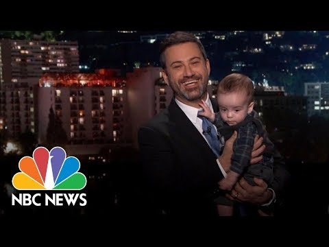Jimmy Kimmel And His Son Make A Plea For Health Care Reform | NBC News