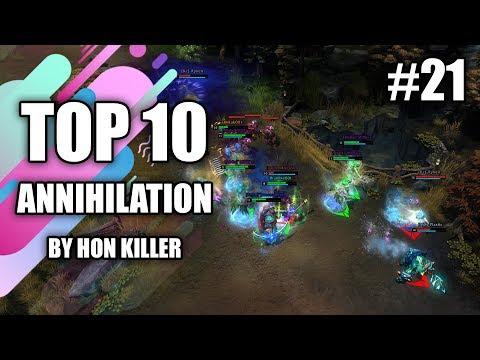HoN Top 10 Best Annihilation (2019) #21