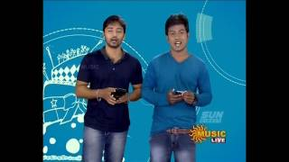 Sun music Vaazthukkal,show Vj Srihari & RahumanHD Video 29-07- 2016 Part -1