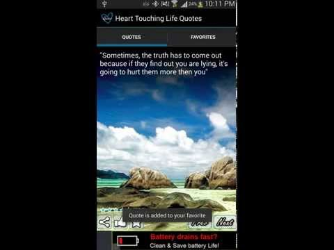 Video of Heart Touching Quotes