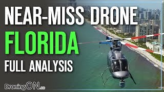 Drone Near-Miss in Florida, Hollywood Beach - Full Analysis