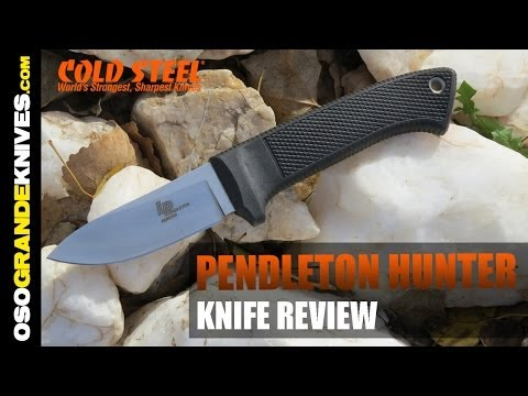 Cold Steel Pendleton Hunter Knife Review | OsoGrandeKnives