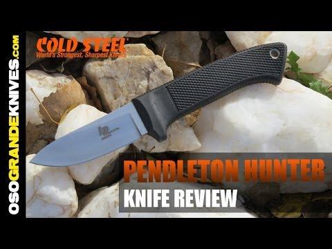 Cold Steel Pendleton Hunter Knife Review | OsoGrandeKnives