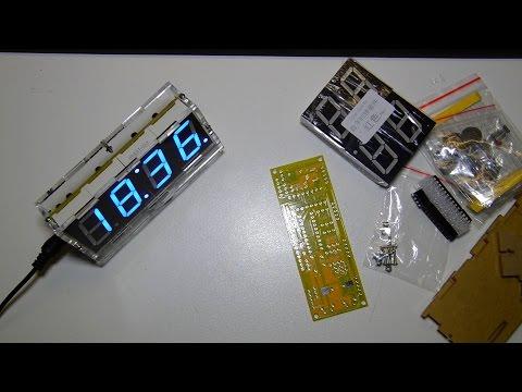 REVIEW | Banggood DIY 4 Digit LED Electronic Clock Kit | German