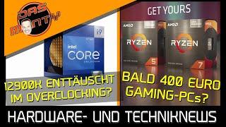 Bald 400EUR-Gaming-PCs dank RDNA2-APUs?   Intel Core i9 12900 enttäuscht im OC?   News   DasMonty