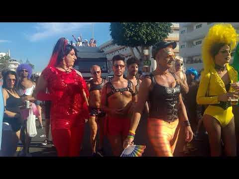 Gran Canaria Gay Pride Maspaloma 2018 cortège stop parade
