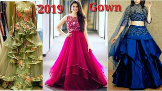 New Gown Design 2020 /Latest Party Wear Gown Dress Design
