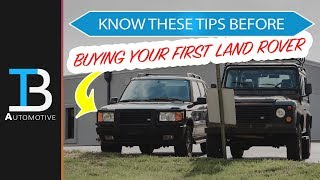 Things to Know Before Buying a Land Rover - Tips for Buying First Land Rover or Range Rover