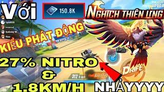 【ZING SPEED MOBILE】NGHỊCH THIÊN ƯNG Với 150k COUPON - Pet siêu ngon cộng tốc độ và hồi Nitro