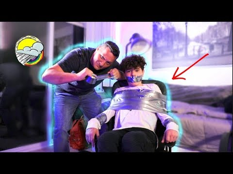 DUCT TAPED TO CHAIR W Billy Leblanc | Christian Lalama - Christian Lalama