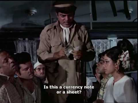 Bombay To Goa Funny Scenes - Aakhri Stop - Mehmood & Aruna Irani