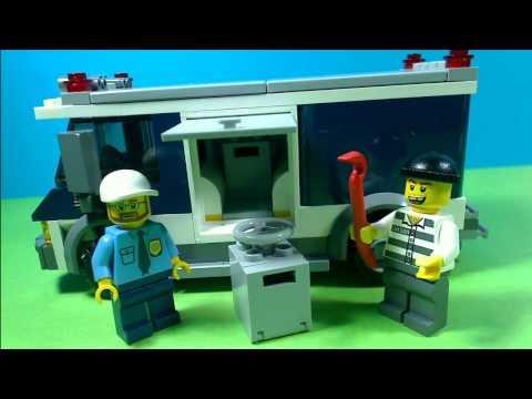 Vidéo LEGO City 3661 : Le transfert de fonds