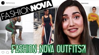 Wearing Fashion Nova Outfits For A Week - Video Youtube