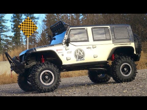 RC ADVENTURES - HUGE 1/8th Crawler Jeep 4X4 On Dirty Trails
