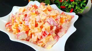 ОБАЛДЕННЫЙ  САЛАТ НА КАЖДЫЙ ДЕНЬ! Superbe Salade
